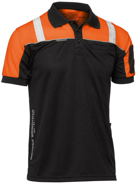 pike_quickdry_worker_svart_orange